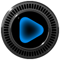 Poweramp skin Neon Blue icon