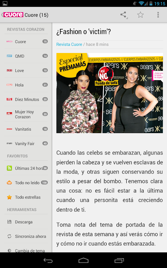 Pinky news revista corazon rss android apps on google play for Revista primicias ya hoy
