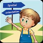 Spatial orientation icon