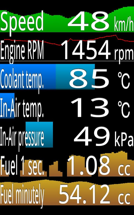 OBD Mileage ( old version ) - screenshot