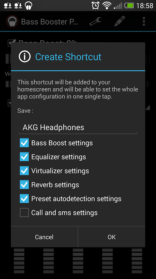 Bass Booster Pro - screenshot