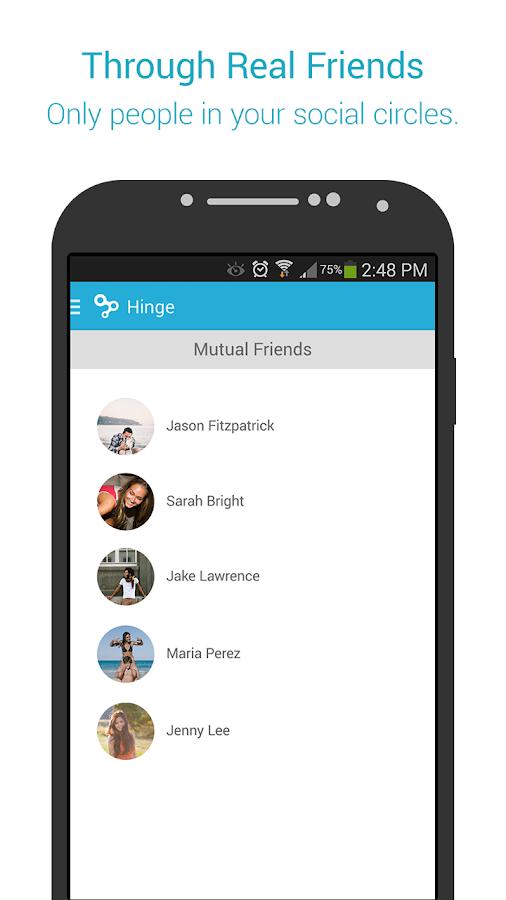 Hinge - screenshot