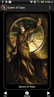 Steampunk Tarot- screenshot thumbnail