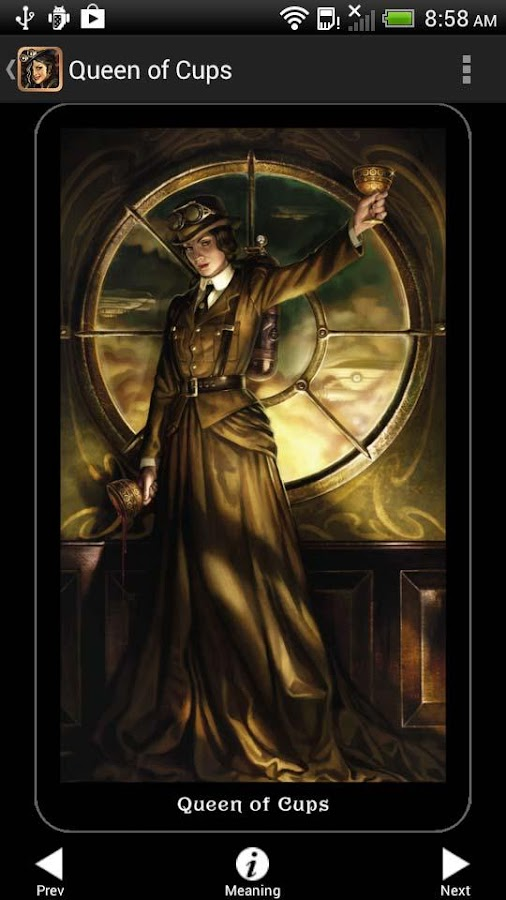Steampunk Tarot- screenshot