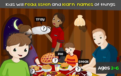 子供のための言葉 - 英語 ゲーム : kids games