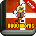 Learn Danish 6,000 Words icon