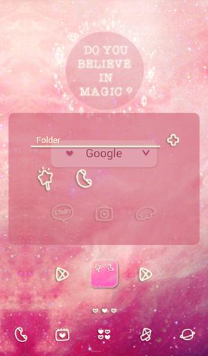 【免費個人化App】twinkle magic 도돌런처 테마-APP點子