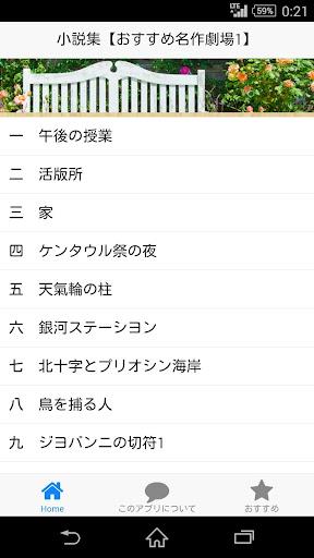 小説集【おすすめ名作劇場1】宮沢賢治/銀河鐵道の夜