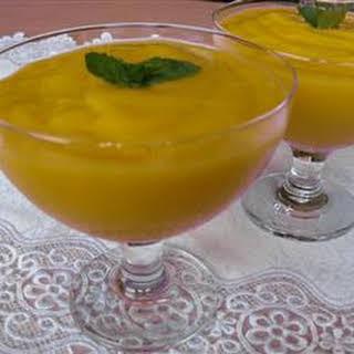 Tropical Mango Mousse.