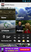Screenshot of WDRB News