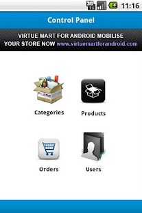 VirtueMart Admin- screenshot thumbnail