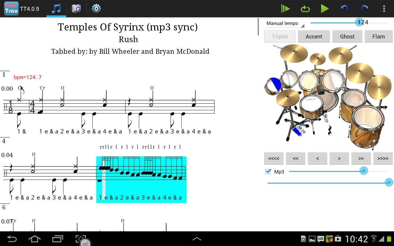 TabTrax drum tab player editor - Android-apps op Google Play