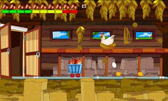 Screenshot of Crazy Squirrels - Hen House