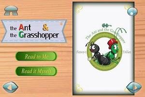 Screenshot of Ant&Grasshopper:3D Story Book