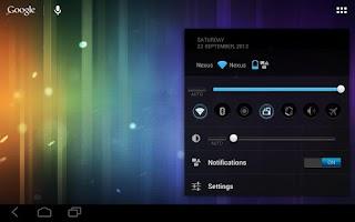 Screenshot of alphaBlue CM9/CM10/AOKP Theme