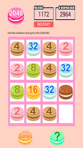 Number puzzle Japanese ver2048