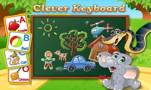 Clever Keyboard: ABC Learning