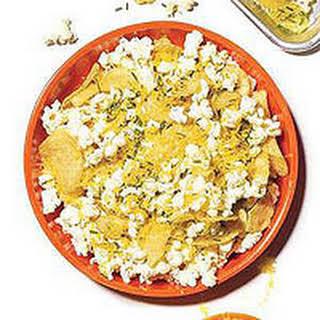 Loaded Baked Potato-and-Popcorn Mix.