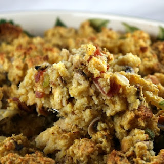Gluten- Free Cornbread and Bacon Stuffing