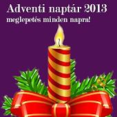 Adventi naptár 2014