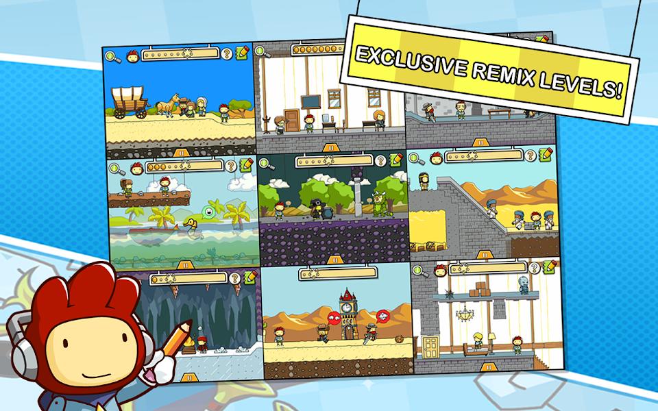 Scribblenauts Remix Mod Apk - Screenshot