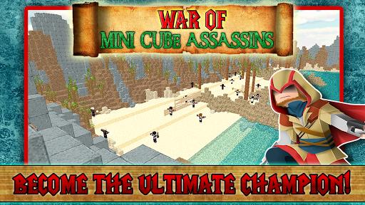 War of Mini Cube Assassins