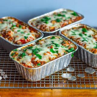 Budget Sweet Potato Lasagna Meal Prep.