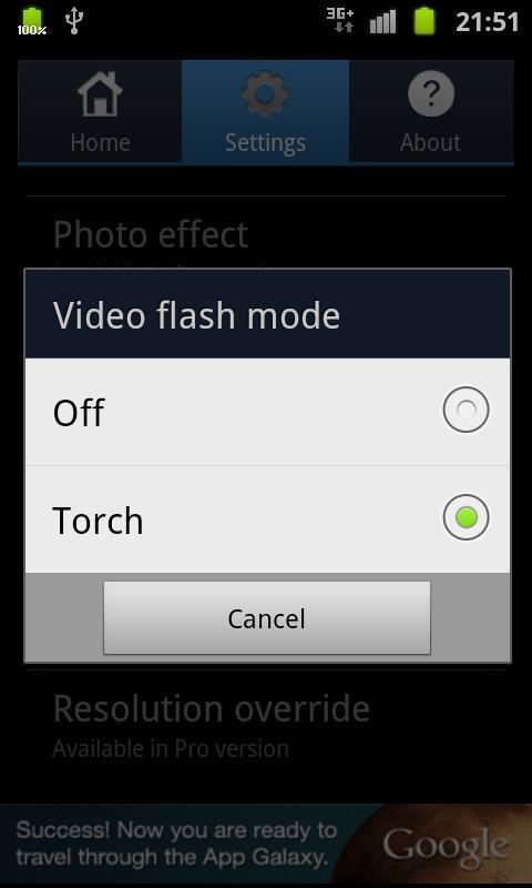 EZ Cam Widget Lite- screenshot