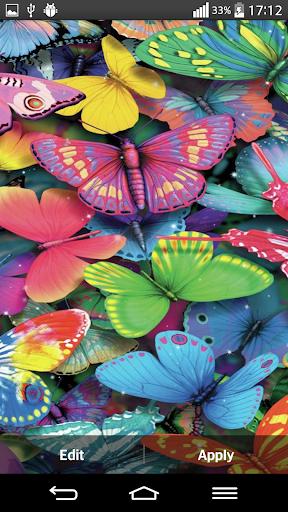 玩免費個人化APP|下載发光蝴蝶壁纸 app不用錢|硬是要APP