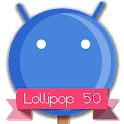 Lollipop 5.0 Blue Theme APK Cracked Download
