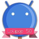 Lollipop 5.0 Blue Theme
