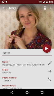 RMC: Android Call Recorder - screenshot thumbnail