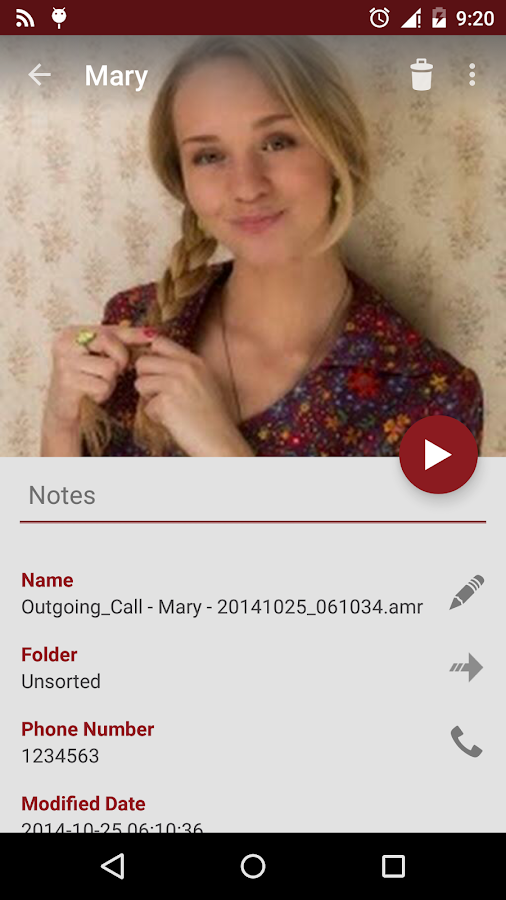 RMC: Android Call Recorder- screenshot