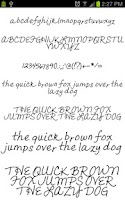 Screenshot of Neat Fonts for FlipFont free