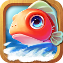 Angry fish:free hunt icon
