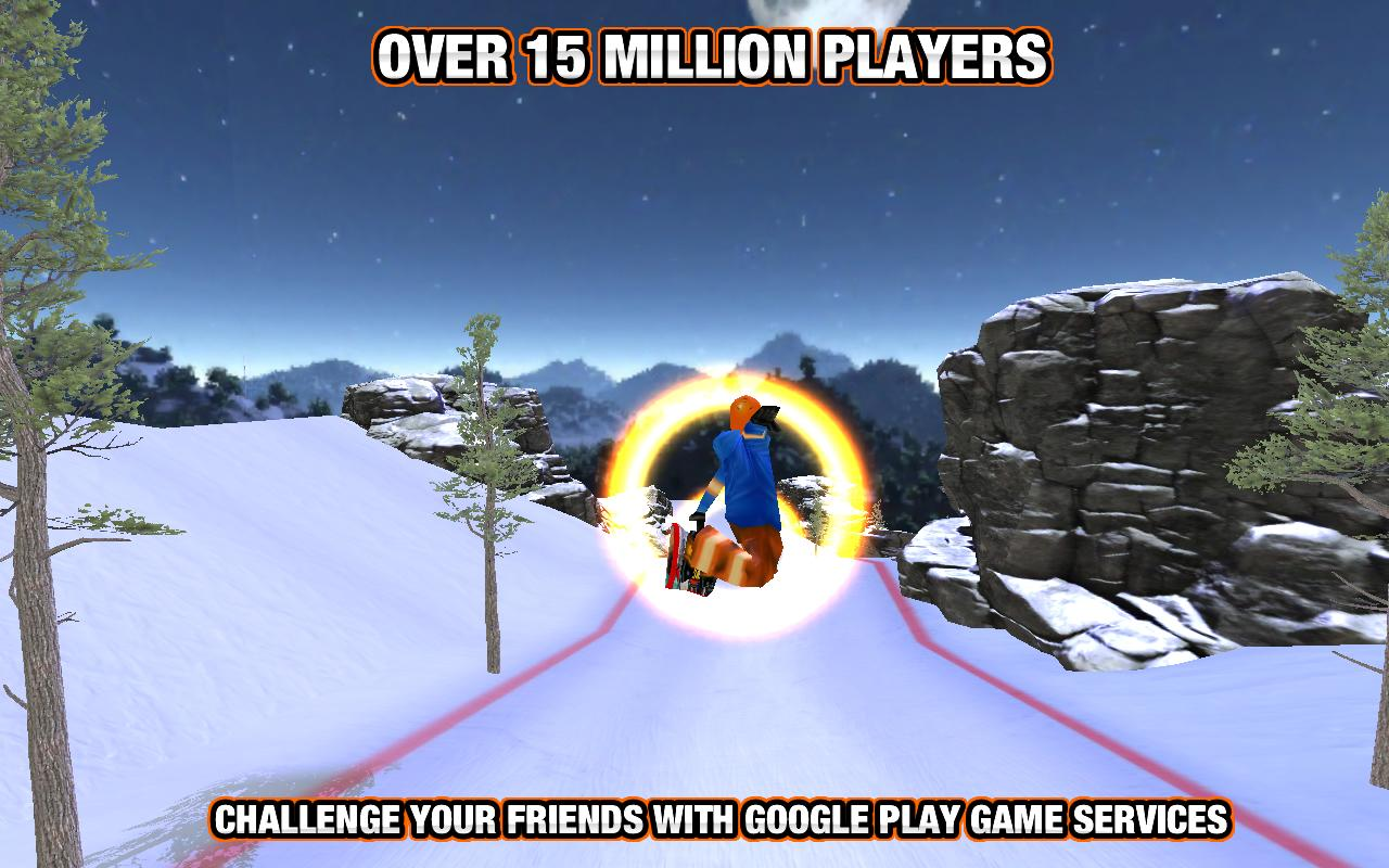 Crazy Snowboard - screenshot