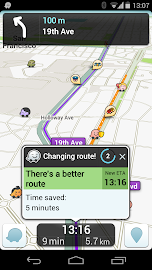 Waze Social GPS Maps & Traffic Screenshot 3
