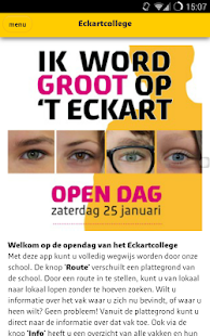 Eckart Open Dag- screenshot thumbnail