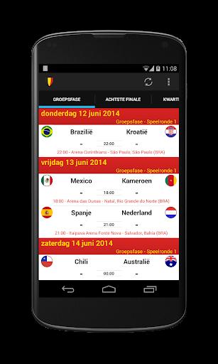 De Rode Duivels - WK 2014
