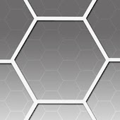 Grey Hexagons Theme