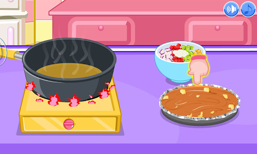 Vegetarian chili cooking game- screenshot thumbnail