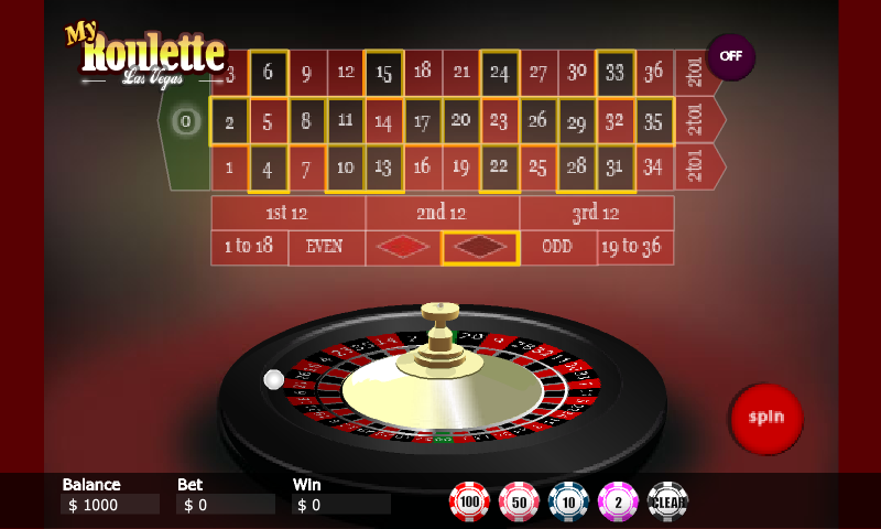 Roulette pa library