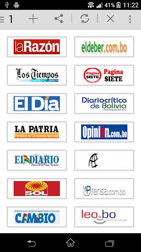 All Newspaper of Bolivia