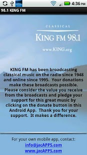 Classical KING FM - screenshot thumbnail