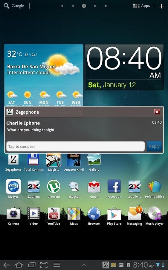 Zegaphone - screenshot