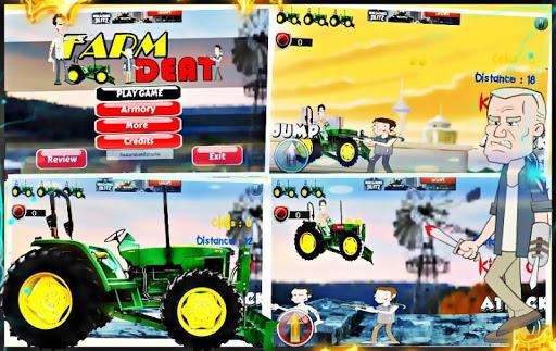 Farm OF Death : เกม รถไถนา