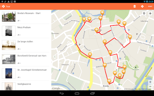 OPAS - GPS audio guide - screenshot thumbnail