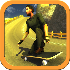Skateboard Racing Free for PC and MAC