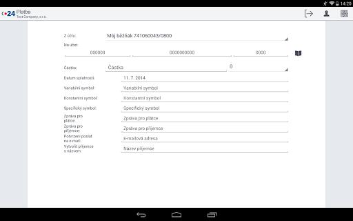玩財經App BUSINESS 24 Mobilní banka免費 APP試玩