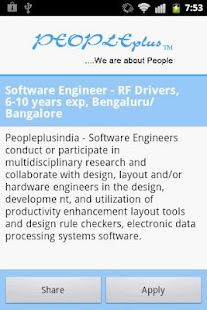 Peopleplus -Latest Active Jobs- screenshot thumbnail
